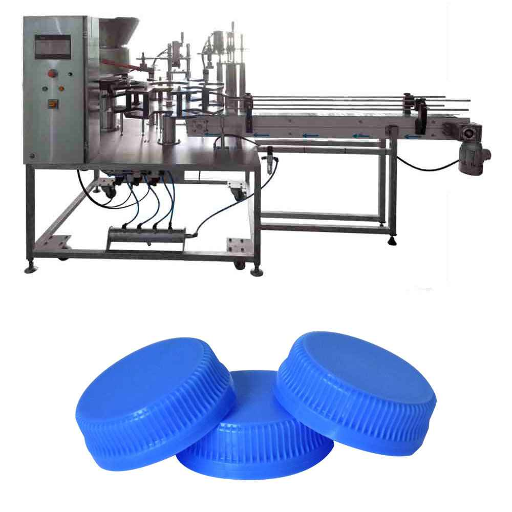 Lid Feeding and Capping Machine
