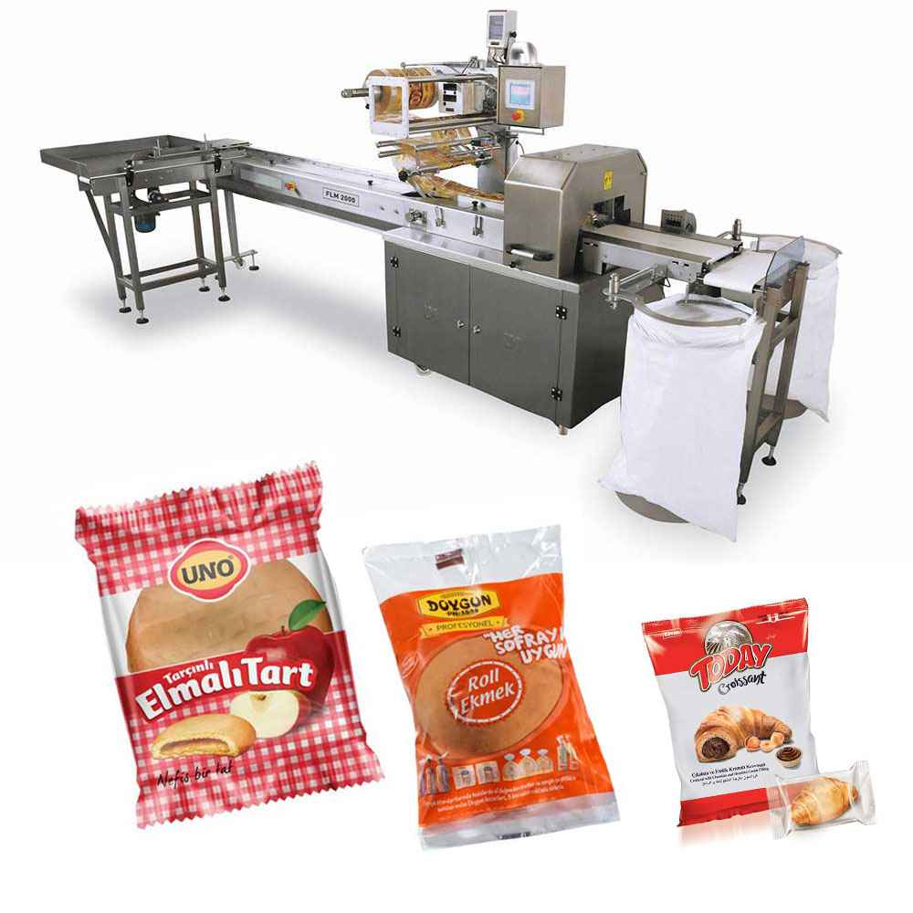 Bread Roll Packaging and Bagging Machine
