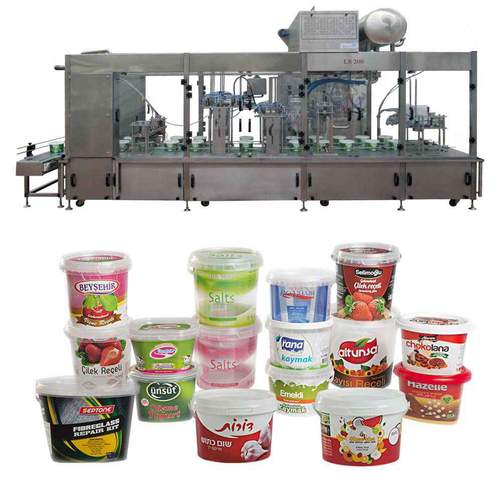 Bucket Filling and Capping Machine