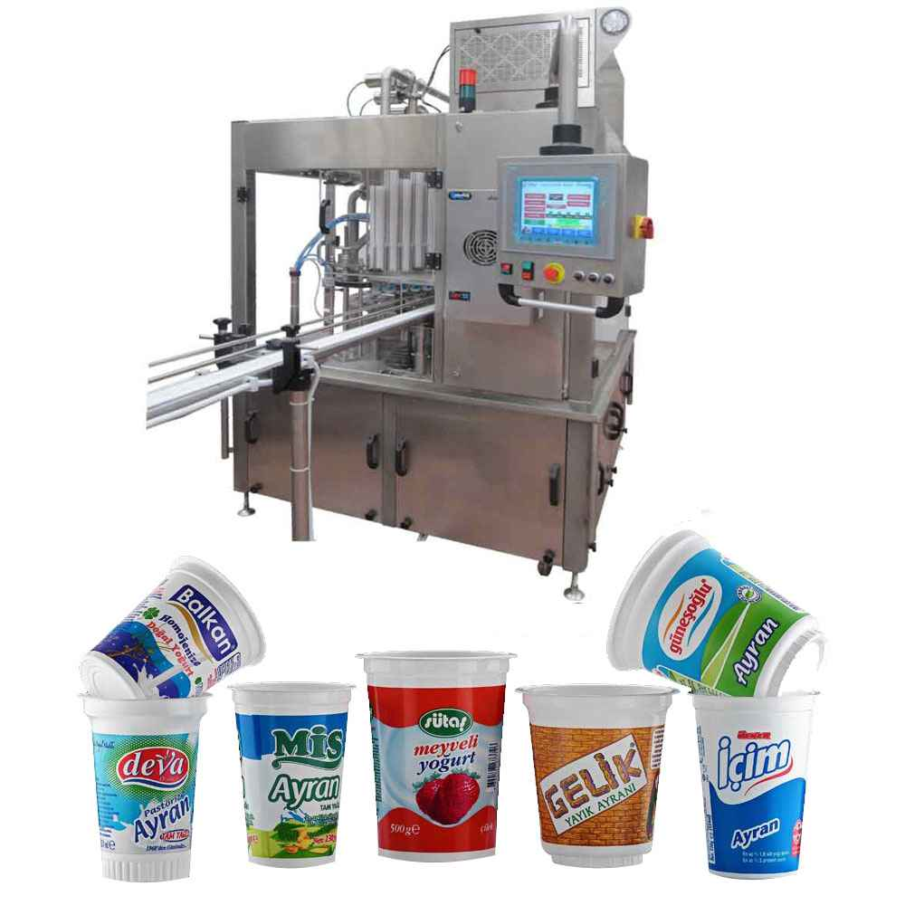 Ayran Filling and Sealing Machine