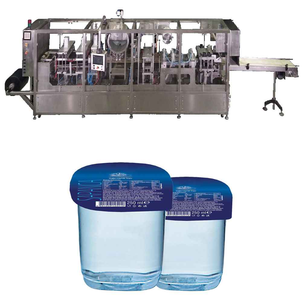 Thermoform Water Filling and Sealing Machine